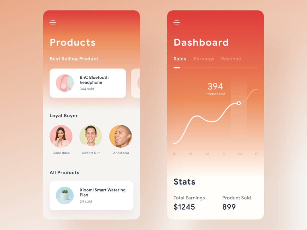 9 trend illustrations of UI interface design in 2021 (3)
